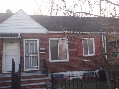 Jamaica Single Family Home For Sale: 112-04 168th St