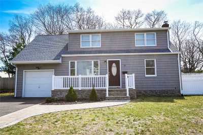 Sayville Single Family Home For Sale: 10 Elaine Dr