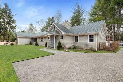 Amagansett Single Family Home For Sale: 99 Oak Ln