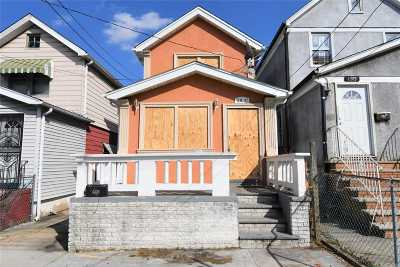 Single Family Home For Sale: 119-71 130th St