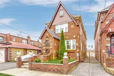 Flushing Single Family Home For Sale: 32-32 171 St