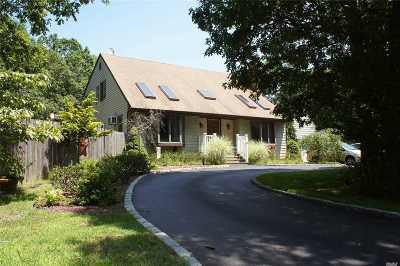 Manorville Single Family Home For Sale: 453 Moriches Middle Rd