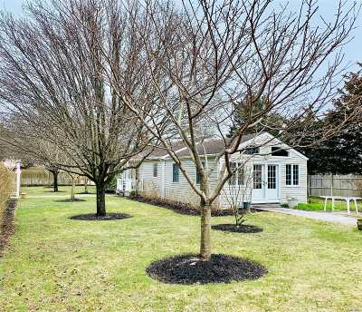 Hampton Bays Single Family Home For Sale: 64 W Inlet Rd