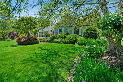 Cutchogue Single Family Home For Sale: 1700 Fairway Dr