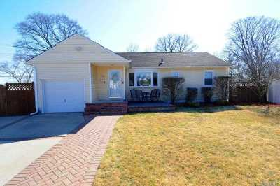 Bethpage Single Family Home For Sale: 45 Crestline Ave