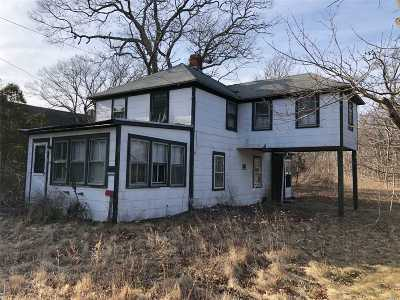 Quogue Single Family Home For Sale: 45 W Montauk Hwy