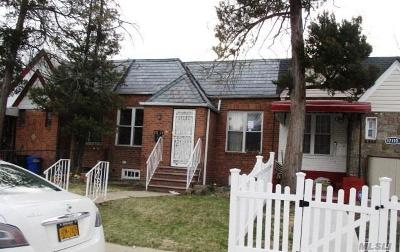 Jamaica Single Family Home For Sale: 171-12 119th Rd