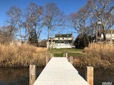 Center Moriches Single Family Home For Sale: 107a Ocean Ave