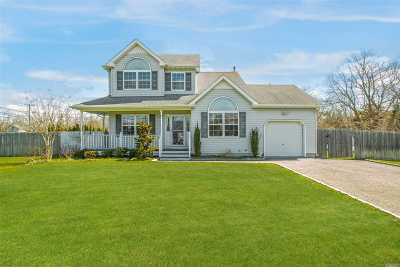 East Moriches Single Family Home For Sale: 3 Paquatuck Ave