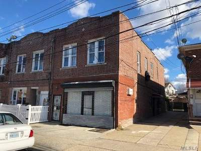 Woodhaven Multi Family Home For Sale: 74-13 Rockaway Blvd