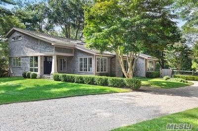 Sag Harbor Single Family Home For Sale: 32 Coves End Ln