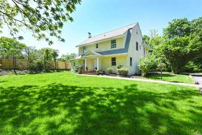 Old Westbury Single Family Home For Sale: 208 Guinea Woods Rd