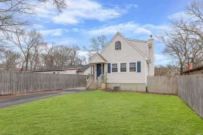Mastic Single Family Home For Sale: 19 Vernon Ave