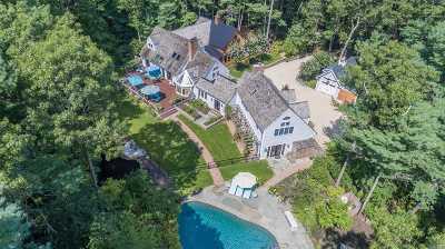 East Hampton Single Family Home For Sale: 86 Bull Path