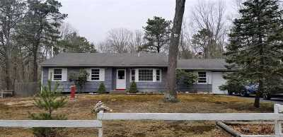 Ridge Single Family Home For Sale: 51 Madeline Rd