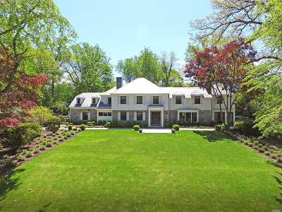 Manhasset NY Single Family Home For Sale: $5,995,000