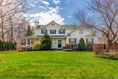 Shoreham Single Family Home For Sale: 38 Ridgefield Dr