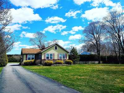 East Moriches Single Family Home For Sale: 31 Chapman Blvd