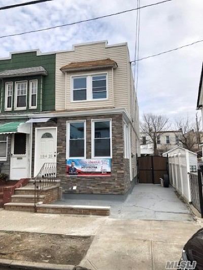 Ozone Park Single Family Home For Sale: 104-25 103 St