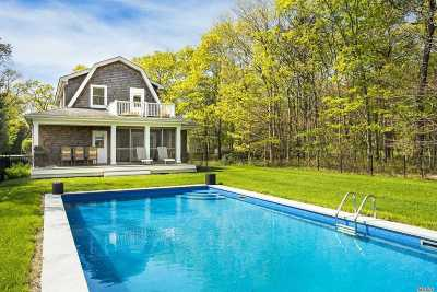 Quogue Single Family Home For Sale: 15 Scrub Oak Rd