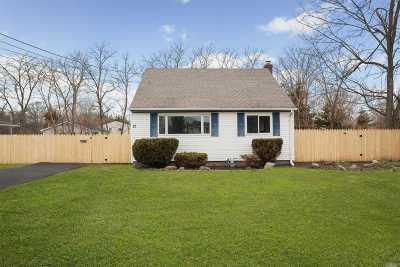 W. Sayville Single Family Home For Sale: 12 Munson Ln