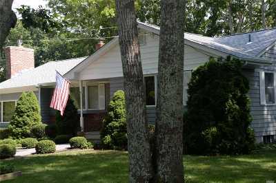 Hampton Bays Single Family Home For Sale: 22 Lovell Rd