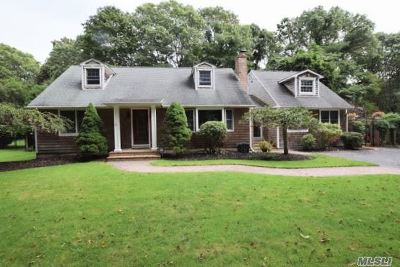 Brookhaven Single Family Home For Sale: 31 Bay Rd