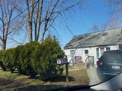 Mastic Beach Single Family Home For Sale: 33 Ann Rd