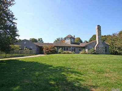East Hampton Single Family Home For Sale: 472 Further Ln