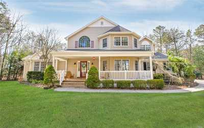 Manorville Single Family Home For Sale: 30 Jerusalem Hollow Rd