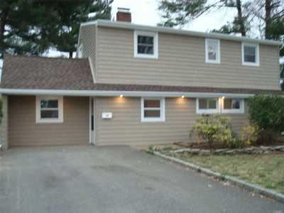 Hicksville Single Family Home For Sale: 37 Bunker Ln