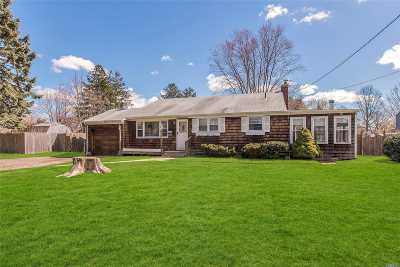 Sayville Single Family Home For Sale: 79 Lowell Rd