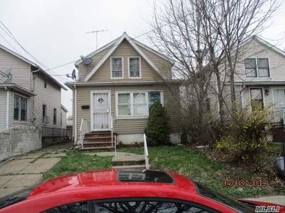 Jamaica Single Family Home For Sale: 171-17 105th Ave