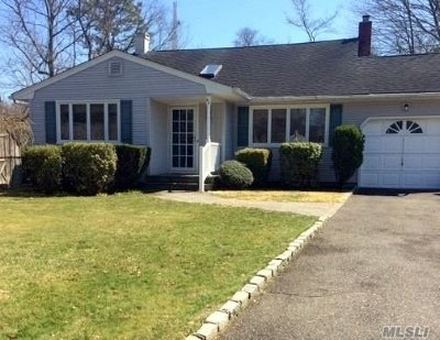 Hauppauge Single Family Home For Sale: 40 Jane Rd