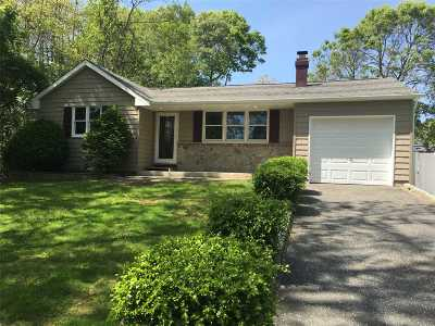 Mastic Single Family Home For Sale: 43 Wills Ave