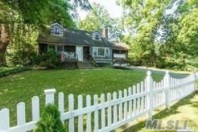 E. Setauket Single Family Home For Sale: 36 Old Post Rd