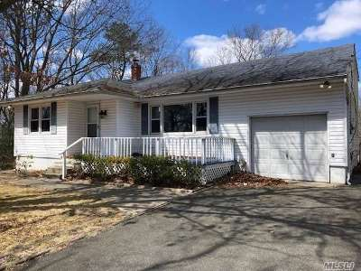 Shirley Single Family Home For Sale: 19 Dawn Dr