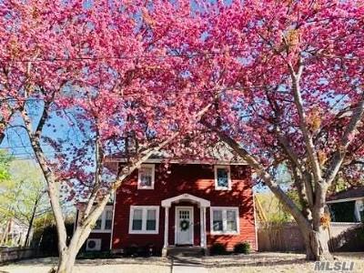 Port Jefferson Single Family Home For Sale: 201 Chestnut St