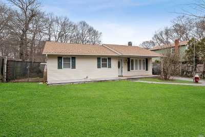 Mastic Single Family Home For Sale: 161 Meadowmere Ave