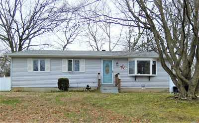 Mastic Single Family Home For Sale: 32 Dressel Dr.