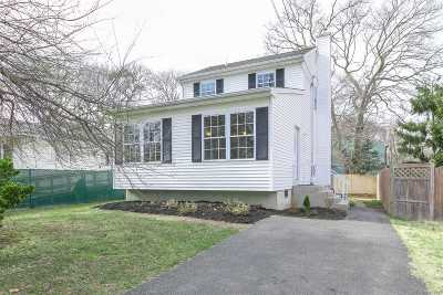 Mastic Single Family Home For Sale: 93a Moriches Ave