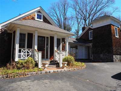 Lloyd Harbor Single Family Home For Sale: 6 Camel Hollow Rd