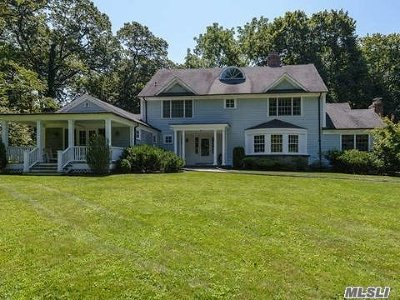 Oyster Bay Single Family Home For Sale: 67 Cove Rd