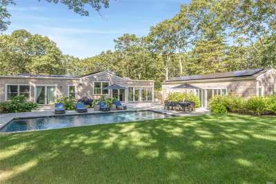 Sag Harbor Single Family Home For Sale: 1580 Sagg Rd