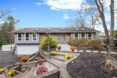 Smithtown Single Family Home For Sale: 19 Woodland Ln