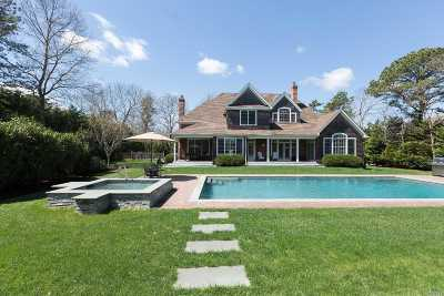 Quogue Single Family Home For Sale: 15 Post Fields Ln