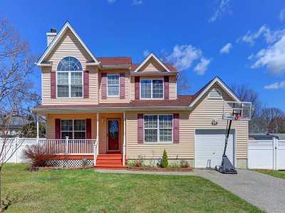 Mastic Single Family Home For Sale: 47 Wood Ave