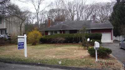 Yaphank Single Family Home For Sale: 565 Sleepy Hollow Dr