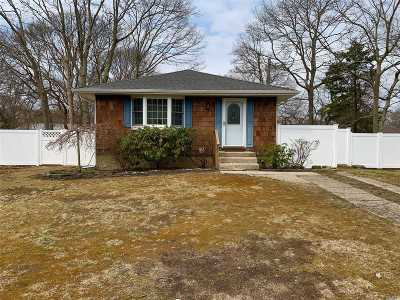 Mastic Single Family Home For Sale: 17 Coventry Ave