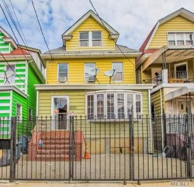 Elmhurst Single Family Home For Sale: 41-19 Judge St